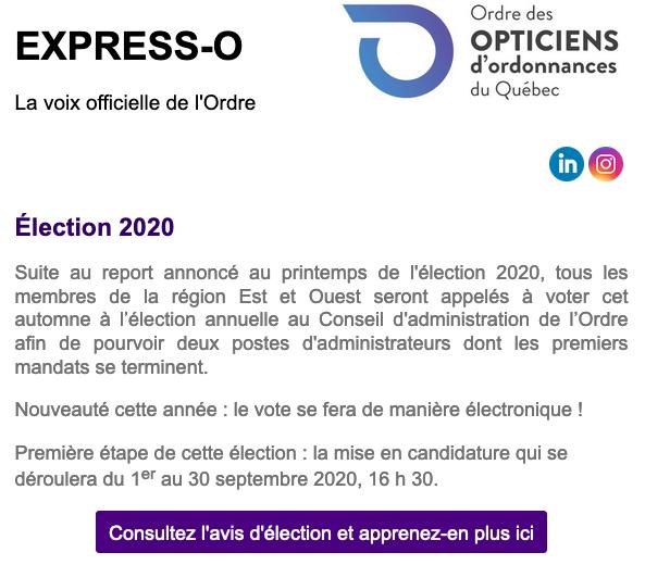 Élection 2020