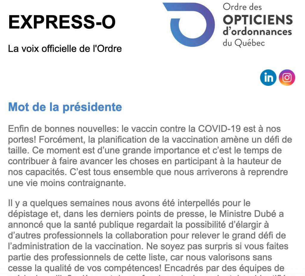 Enfin de bonnes nouvelles: le vaccin contre la COVID-19 est à nos portes!
